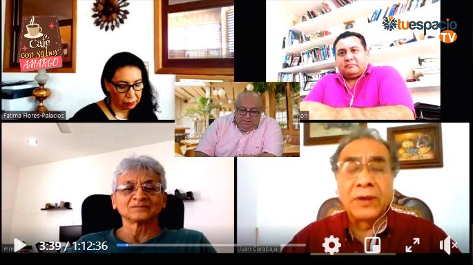 """Mesa virtual de debate """"Análisis de situación psico-sociopolítica y económica que se vive en Yucatán por la pandemia"""" [443]"""